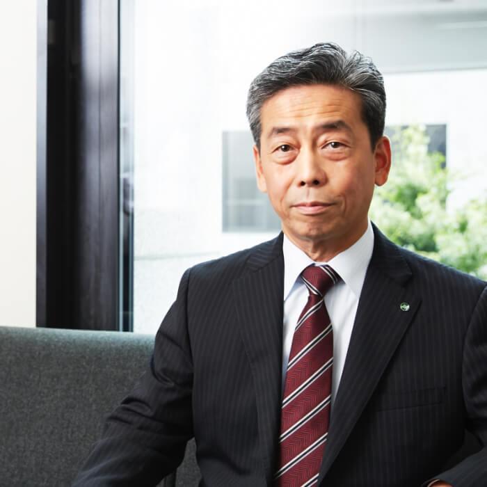 日本ジフィー株式会社 代表取締役社長 岡崎健二