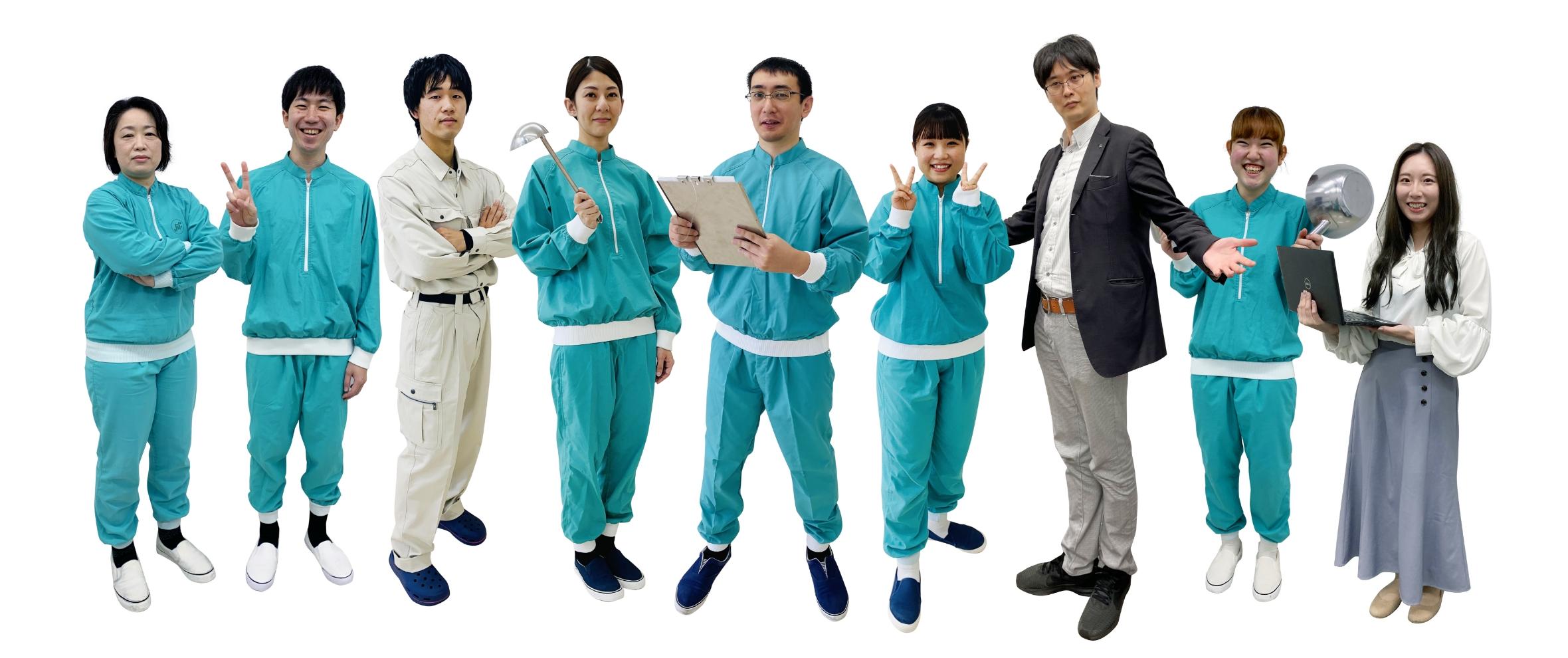 日本ジフィー食品株式会社の人々